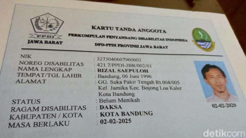 PPDI Bakal Terbitkan Kartu Anggota Disabilitas di Jabar
