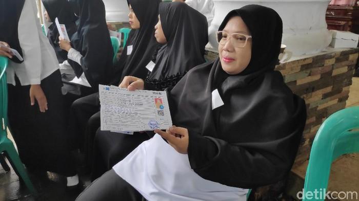 M Bakrie-detikcom/ Ernawati, peserta CPNS di Maros, Sulawesi Selatan (Sulsel)