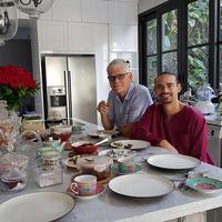 Kebersamaan Mohamed Sinclair dan Ashraf Sinclair