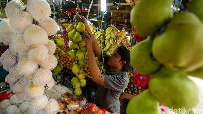 Impor produk buah-buahan dari China untuk sementara dihentikan imbas merebaknya corona. Hal itu menjadi potensi buah lokal untuk berkembang.