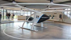 Siap-siap! Grab Bakal Operasikan Taksi Udara Volocopter