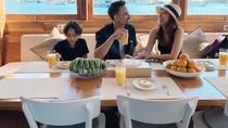 Kenangan Terakhir Momen Kulineran Noah Bersama BCL dan Ashraf Sinclair