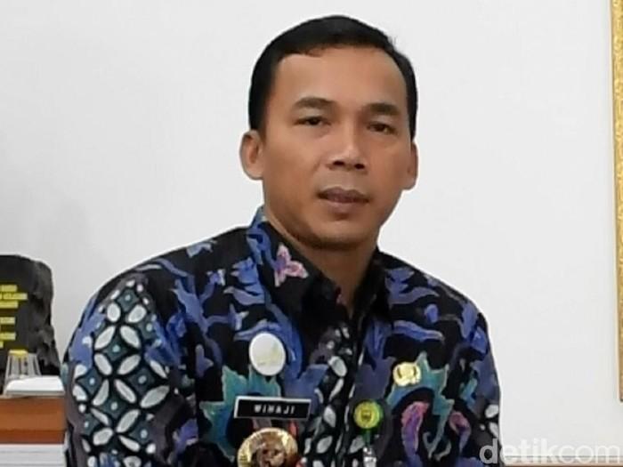 Bupati Batang, Jawa Tengah, Wihaji, Rabu (19/2/2020).