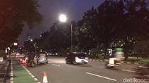 Massa Demo Anies di Balai Kota Bubar, Lalu Lintas Lancar