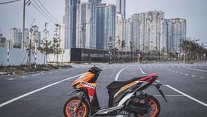 Motor MotoGP Repsol Honda Versi Vario 150