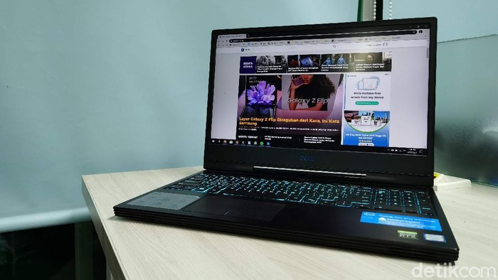 Review Dell G7 15 7590
