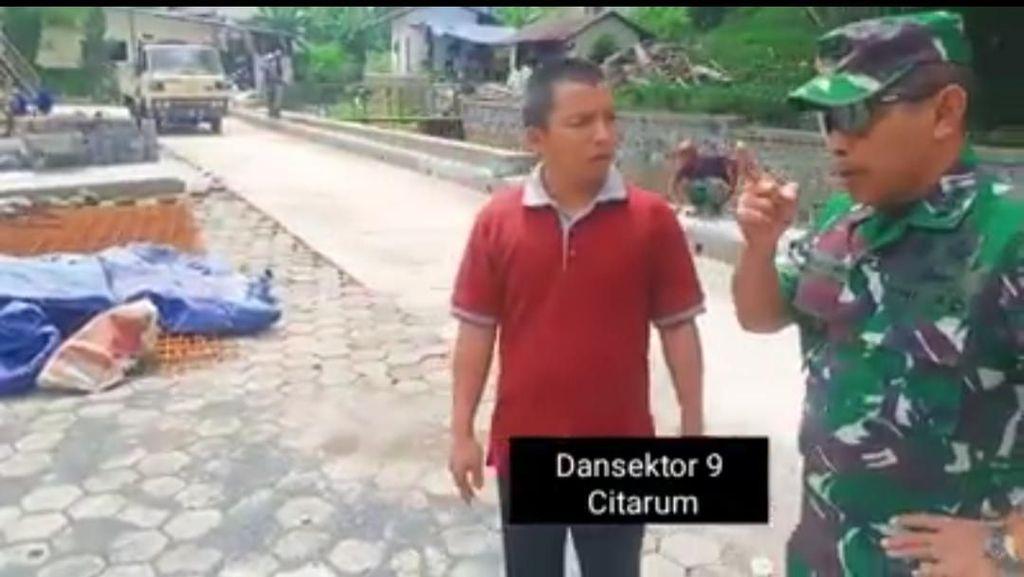 Dansektor Citarum Emosi Pabrik di KBB Buang Air Panas ke Sungai