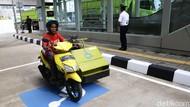 Asyik! Ada Parkiran Khusus Difabel di Stasiun MRT Jakarta