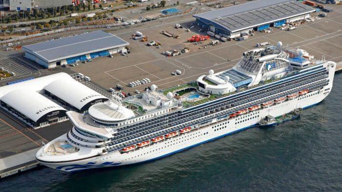 Setelah Tiga WNI Positif Corona, Kru Kapal Pesiar Diamond Princess Akan Dites