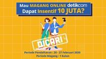 Magang Online detikcomDikasih Insentif Rp 10 Juta