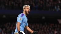 Manchester City Tambah Kontrak Sergio Aguero