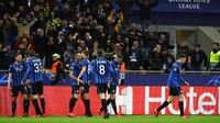 Hasil Liga Champions: Atalanta Hajar Valencia 4-1