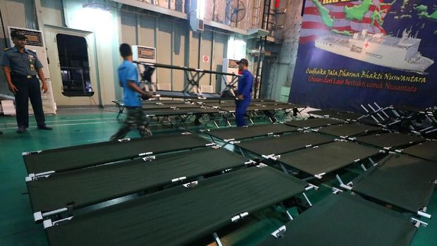 Detail Skenario Evakuasi 74 ABK Diamond Princess dengan KRI Dr Soeharso