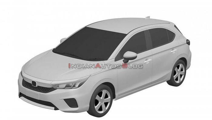 Bocoran desain Honda City versi hatchback