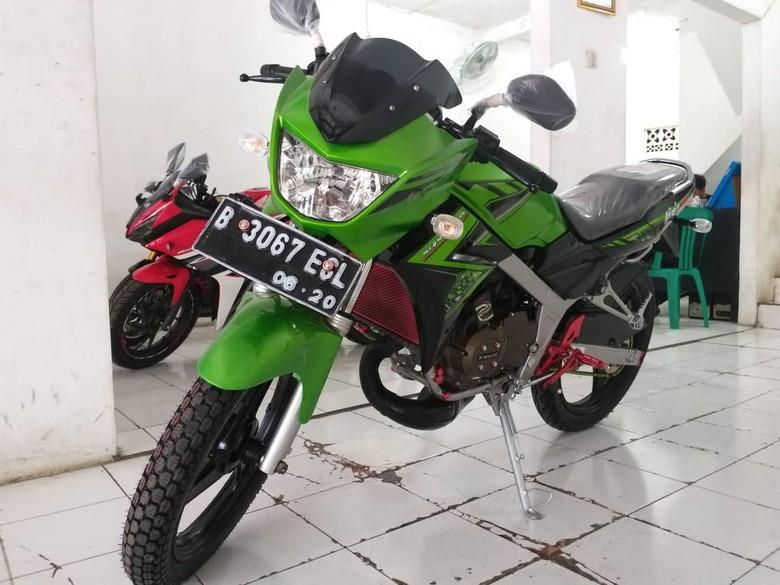 Si Legendaris Kawasaki Ninja 150 R Harga Bekasnya Masih Rp 19 Jutaan