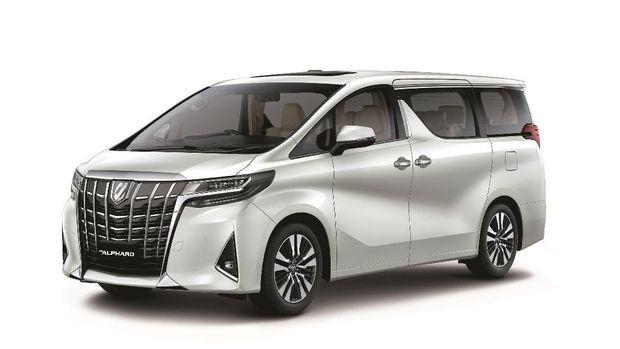 Ilustrasi Toyota Alphard Terbaru