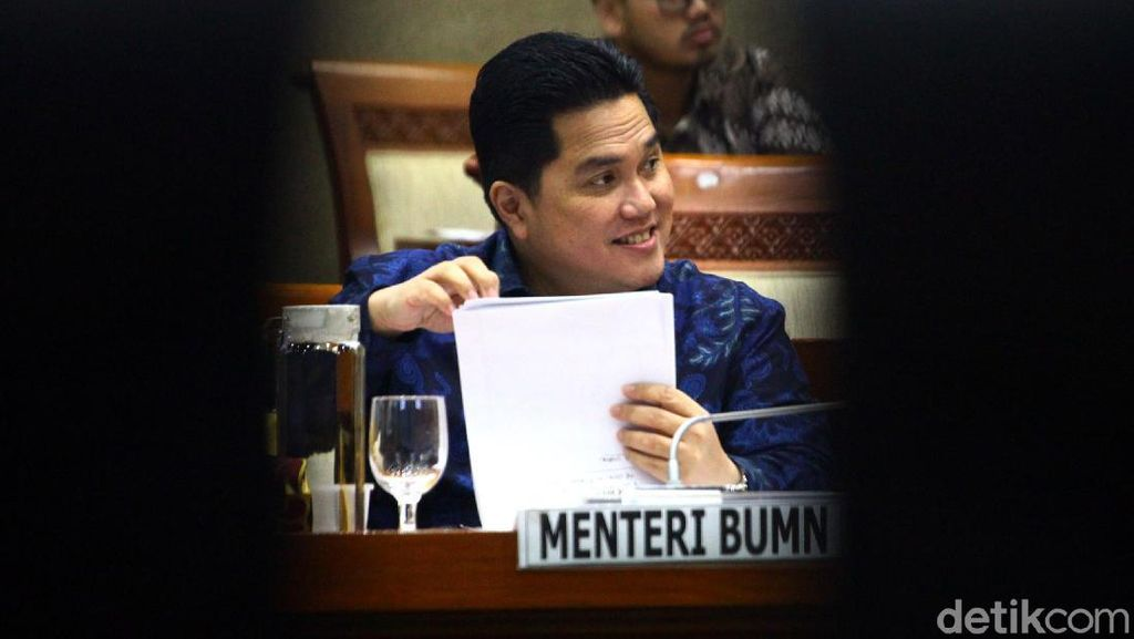 Erick Jamin Bongkar Pasang Bos BUMN Bukan karena Dekat Menteri