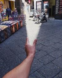 contoh ilusi optik tanpa editan