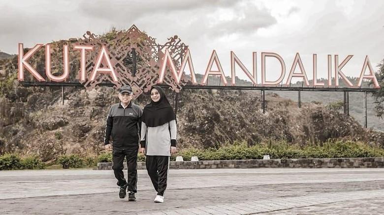 Wapres Maaruf Amin di Mandalika Lombok