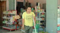 Ogah Mengemis, Pria Disabilitas Ini Malah Hidupi Keluarga Sejak SD
