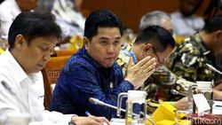 Pesan Jokowi ke Tim Erick Thohir: Ekonomi Jangan Minus