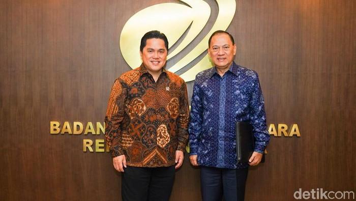 Erick Thohir dan Agus Marto
