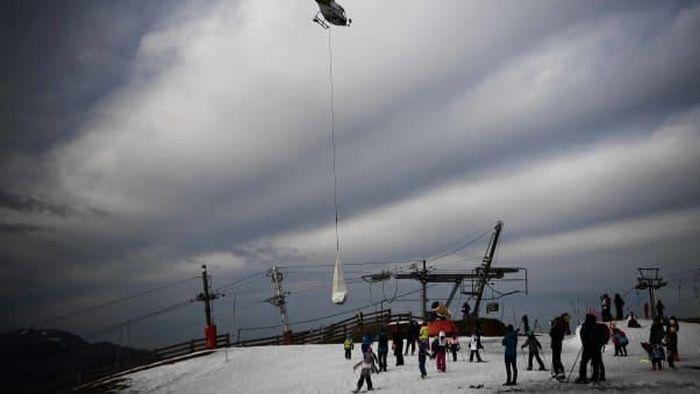 Salju di Resor Ski Eropa