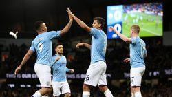 Man City Ungguli West Ham 1-0 di Babak Pertama