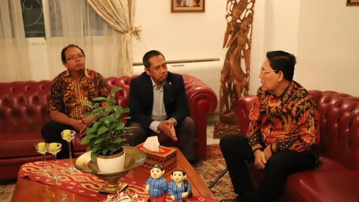 Dubes RI untuk Senegal Mansyur Pangeran bertemu perwakilan RI membahas proyek prestisius di Afrika