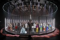 Fashion show Gucci Fall 2020 di Milan Fashion Week.