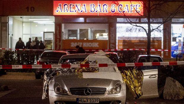 Penembakan Massal di Jerman, Pelaku Tinggalkan Pesan Rasis