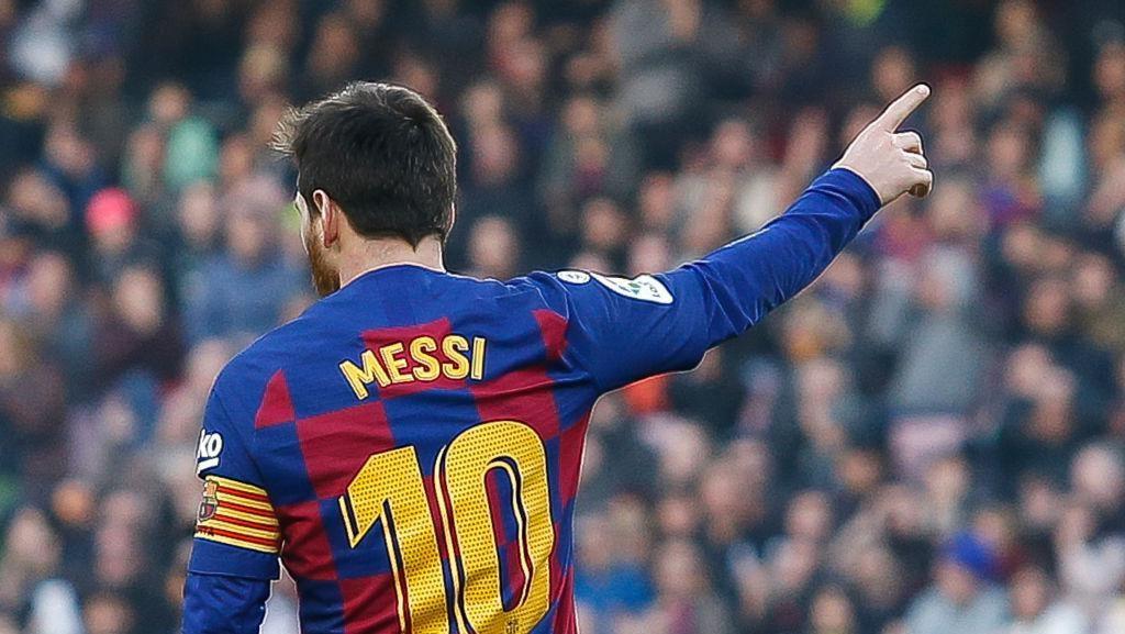 Idamkan San Paolo, Messi Semangat Banget Main di Naples