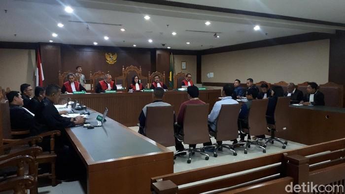 Suasana persidangan di Pengadilan Tipikor Jakarta (Foto: Faiq Hidayat/detikcom)