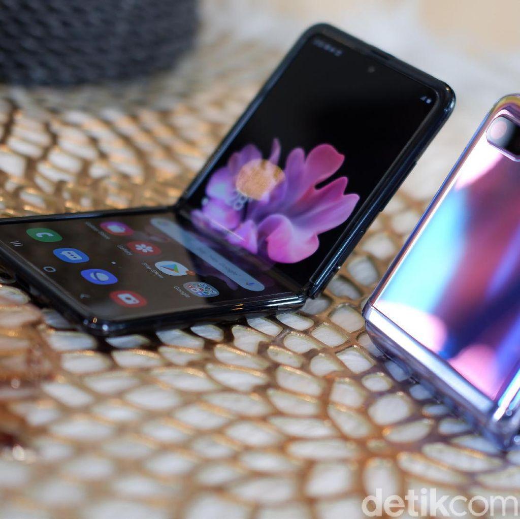 Meski Harganya Rp 20 Jutaan, Galaxy Z Flip Ludes di Pasaran