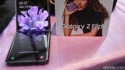 Layar Galaxy Z Flip Diragukan dari Kaca, Ini Kata Samsung