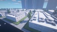 Gamer Bikin Replika Rumah Sakit Corona di Minecraft