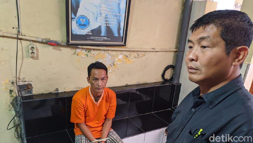Pria Ini Kirim Sabu ke Tahanan di Kantor Polisi Pakai Kantong Plastik