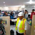 Pantau Proyek Tol Permai, Menteri Basuki Semangati Pekerja HKI