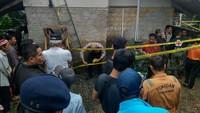 Satu Keluarga Tewas Tertimbun Longsor di Ciawi Bogor