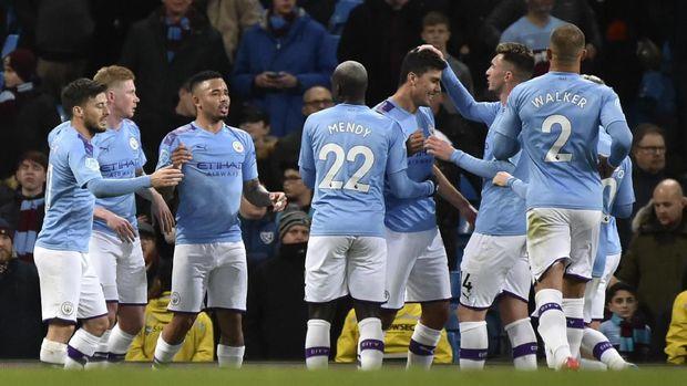 Man City dilarang tampil di Liga Champions dua musim.