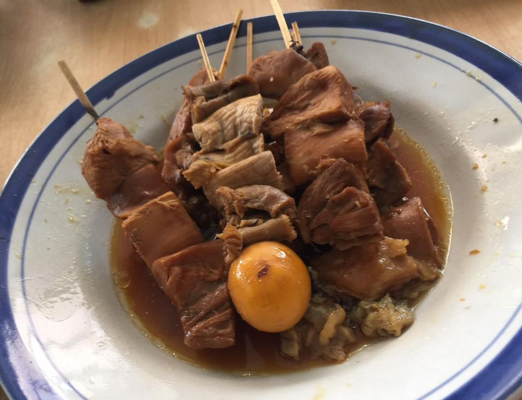 soto ayam khas kudus mbak lin semarang