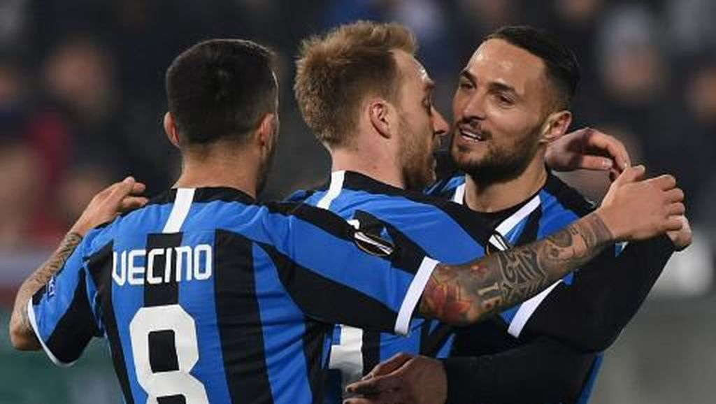 Ludogorets Vs Inter: Eriksen Debut Gol, Nerazzurri Menang 2-0