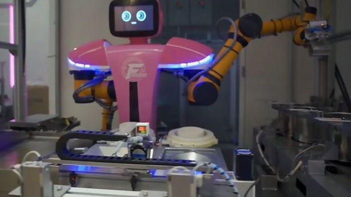 robot untuk virus corona