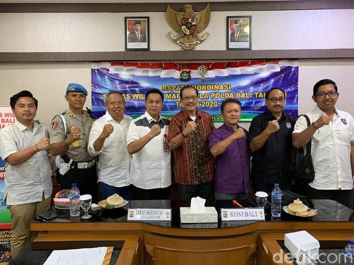 Polda Bali bentuk Satgas Antimafia Bola jelang Liga 1 2020-2021 (Angga Riza/detikcom)
