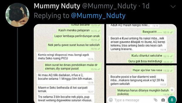 Viral dari Sleman, Siswa SD Opname Diduga Korban Bullying