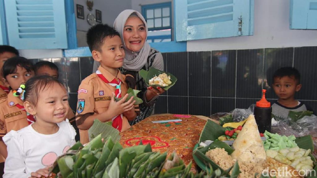 Siswa SD di Kota Madiun Rayakan Ultah dengan Ramah Lingkungan