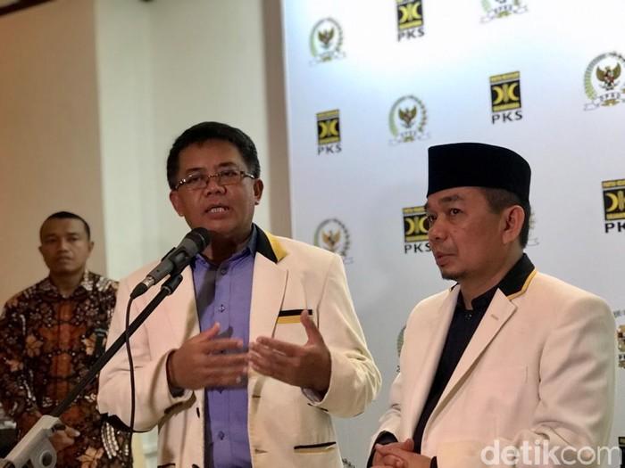 Presiden PKS Sohibul Iman (Zhacky K/detikcom)
