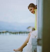 Dalam Instagram pribadinya, Marshanda membagikan foto-fotonya sat liburan ke Pulo Cinta. (marshanda99/Instagram)
