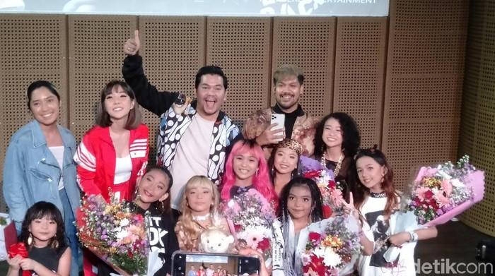 Indra Bekti bentuk girl group Kazumi (Anisa/detikcom)