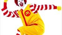 Dianggap Menyeramkan, Badut Ronald McDonalds Tak Lagi Jadi Ikon